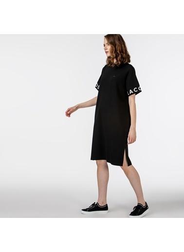 Lacoste Kadın Kısa Kollu Elbise EF0107.07S Siyah